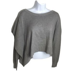 Zara Knit Grey Long Sleeve Sweater